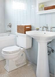Traditional White Bathrooms White Bathroom Eclectic Bathroom Blue U0026 White Bathroom Tile