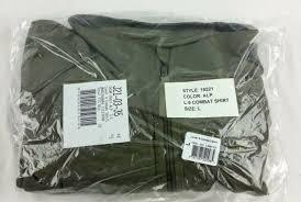 Patagonia Level 9 Combat Shirt Size Large Alpha Green 19221 Alp Lg