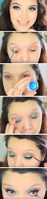 purple duck egg cute spring makeup looks for brown eyes easy easter makeup looks