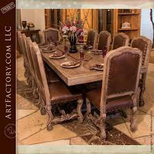 wooden dining furniture. Custom Solid Wood And Hand Carved Dining Tables Wooden Furniture