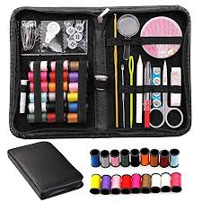 norjews sewing kit whole family equipped 118pcs sewing supplies with portable needlework box practical