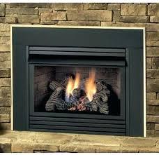 classic oak inch vent free gas log set 18 logs savannah in natural