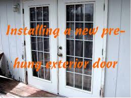 replacing a front doorHow to Install a Prehung Door Replacing an Exterior Door  Dengarden