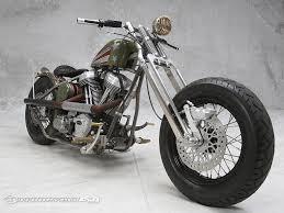 brass balls bobber raffled for fallen hereos motorcycle usa
