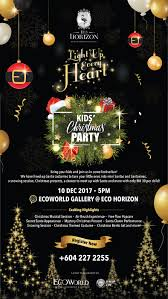 Christmas Event Eco Horizon Kids Christmas Party Howei Online Event