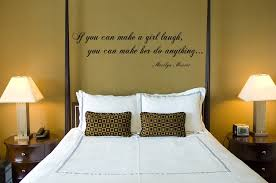 marilyn monroe quotes wall art for master bedroom decor with contemporary table lamps on wall decals quotes for master bedroom with marilyn monroe quotes wall art for master bedroom decor with