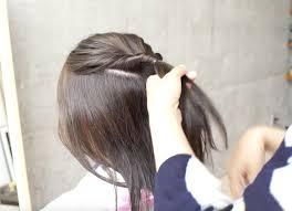 簡単にできる浴衣に似合うヘアアレンジミディアムヘア 趣通信
