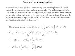 3 momentum conservation