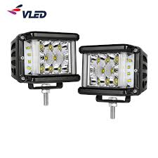 Service Truck Led Work Lights Hot Item 4 Inch 60w Cree Side Shooter Led Pods Spot Lights Driving Fog Lights Led Work Lights For Off Road Truck Car