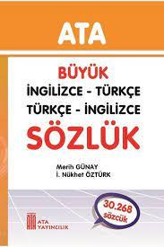 Ata Yayıncılık Büyük İngilizce - Türkçe, Türkçe - İngilizce (Sert Kapak)  Fiyatı, Yorumları - TRENDYOL