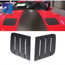 <b>For Ford Mustang 2015</b> 2017 Black Air Intake Trim Panel installed ...