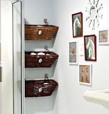 hang baskets in an unused nook tutorial here