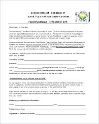 Parental Consent Letter Template Form Informed For Parents