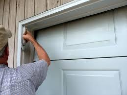 modern metal garage door trim 1