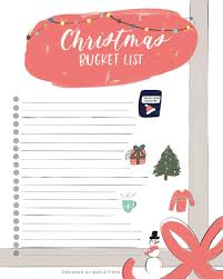 Blank Christmas List Most Recommended Christmas Books Christmas Bucket List