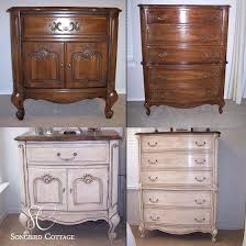 furniture refurbished. Refurbished Furniture Before And After French With Chalk Store Names