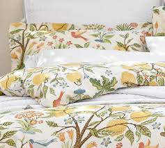 duvet cover with birds sweetgalas