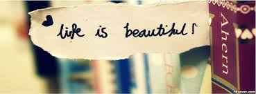 Beautiful Quotes Cover Photos For Facebook Best of Life Is Beautiful Paper Facebook Cover Photo FBcover