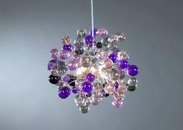 purple chandelier shades ceiling light fixture purple shade color bubbles for children zoom purple mini chandelier