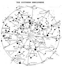 Star Charts For Southern Hemisphere Html Version Of Oct Newsletter