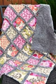 Best 25+ Lap quilt patterns ideas on Pinterest | Easy quilt ... & How to Make a Minky Rag Quilt Adamdwight.com