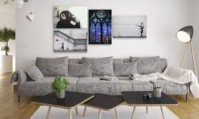 banksy wall art prints on gallery wrapped canvas  on banksy wall art prints with up to 56 off on banksy street art prints groupon goods