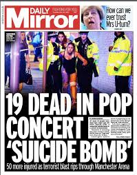 Image result for Terror manchester terror