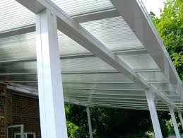 clear patio roof panels cover for a deck insulated cost covers o25