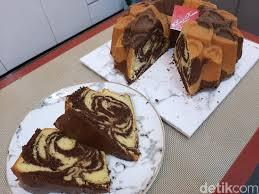 Resep bolu apel paling enak ala ibu kampung. Resep Marmer Cake Super Lembut Ala Thomaz Law