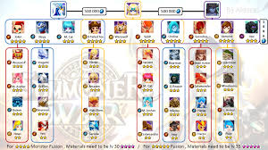 fusion recap everyone want ! summonerswar Summoners War Surprisr Box Fuse monster you need for fusions