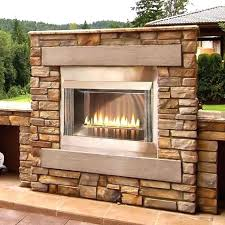 empire inch loft premium certified outdoor vent free propane gas fireplace olpfp72s canadian tire prop