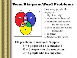 2 circle venn diagram problems solving problems using venn diagram mr albert f perez june 29 ppt
