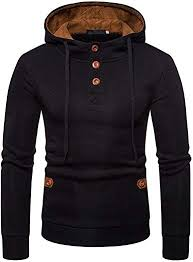 BOZEVON <b>Men's</b> Sweatshirt - Spring <b>Autumn Large Size</b> Hooded ...