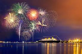 Image result for pictures of fireworks in the sky