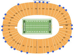 Uc Berkeley Football Stadium Seating Chart Memorial Stadium Tickets In Berkeley California Memorial