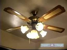how to install ceiling fans how to turn on the power test a