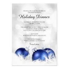 Holiday Dinner Invitation Christmas Dinner Party Invitation