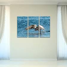 bruce bain x27 pelican flight x27 3 piece set canvas on flight canvas wall art with bruce bain pelican flight 3 piece set canvas wall art free