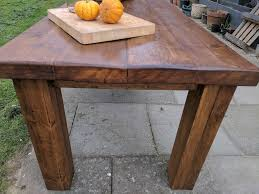 Large Farmhouse Kitchen Table Extra Large Rustic Reclaimed Wooden Farmhouse Table Dining