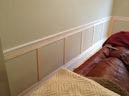 chair rail wainscoting. Great Example Of Some Simple Wainscoting Below A Chair Rail. Want . Rail