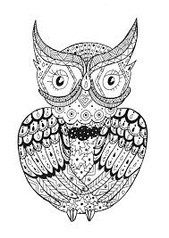 Small Picture Zentangle Coloring pages for adults JustColor