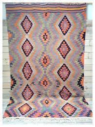 rugs master bedroom turquoise black and orange diamond vintage rug best ta 1 4 images on