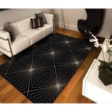 orian rugs illusion black area rug  walmartcom