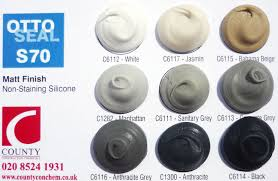 Graphite Grey Colour Chart Otto Chemie Mastic Joint Sealants And Adhesives