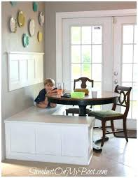 dining table banquette seating dining