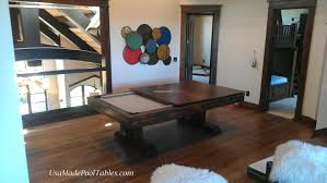 Pool And Dining Table Rustic Table Rustic Pool Tables Rustic Dining Table Rustic