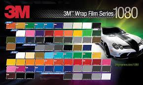 30 1080 Color Chart Suncoast Wraps