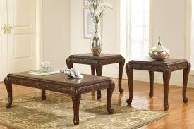 Coffee Tables Dazzling Ashley Furniture Vinasville Piece Table