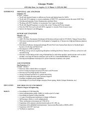 Fpga Design Engineer Resume Asic Engineer Resume Samples Velvet Jobs