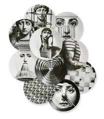 Fornasetti Art Prints A Group Of Ten Fornasetti Tema E Variazioni Porcelain Plates